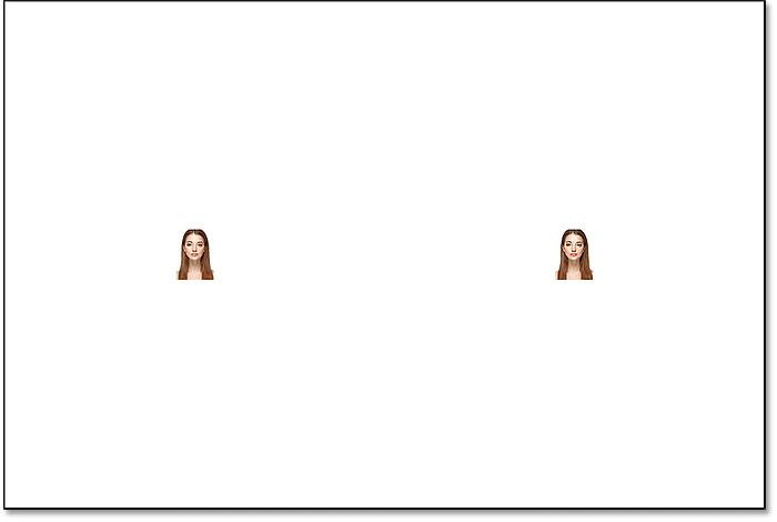 نتیجه پس از کوچک سازی تصویر و شی هوشمند تا 10 درصد در فتوشاپ